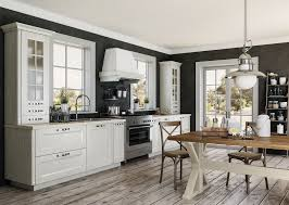 landhausküche arle massivholzküche weiße küchenzeile