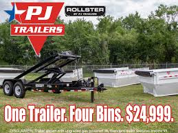 100 Rolloff Truck For Sale PJ Roll Off Dump Trailer Right Trailers New And Used Cargo