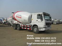 100 Concrete Mixer Truck For Sale China Sinotruk 6X4 Heavy Duty For China