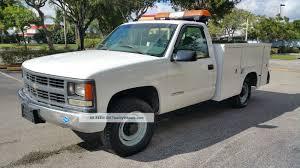 100 2000 Chevy Trucks 2500 Utility Service Truck