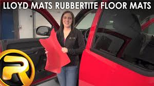 Lund Catch It All Floor Mats by Lloyd Mats Rubbertite Floor Mats Fast Facts Youtube