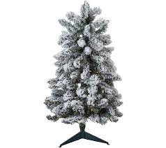 3ft Pre Lit Blossom Christmas Tree by Christmas Trees U2014 Qvc Com