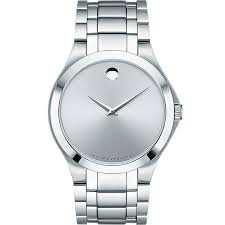 Movado Mini Desk Clock by Movado Men U0027s Military Exclusive Watch 41mm 606782 Stainless