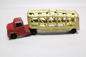 Vintage Tootsie Toy Turnpike Tansport Truck, Approx 4 3/4
