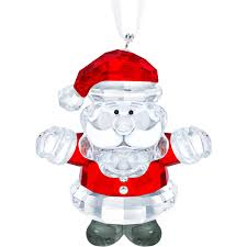Santa Claus Ornament Exclusively On Swarovskicom