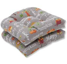 Autumn Harvest Haystack Indoor/Outdoor Rocking Chair Cushion