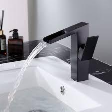 square slanted single 1 handle wasserfall