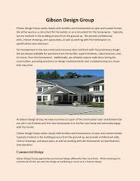 100 Gibson Custom Homes Design Group