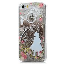Iphone 5S Iphone 5 Case Mavis s Diary 3D Bling Flowing Liquid