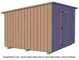 10x12 Shed Material List by Lean To Style Sheds