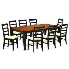 Shop Logan 9-piece Black And Cherry Finish Dining Table And Chairs ... 90 Off Bernhardt Embassy Row Cherry Carved Wood Ding Darby Home Co Beesley 9 Piece Buttmilkcherry Set 12 Seater Cherrywood Table And Chairs Christophe Living Fniture Of America Brennan 5piece Round Brown Natural Design Ideas Solid Room House Craft Expandable Art Deco With Twelve 5 Wayfair Wood Ding Set In Ol10 Rochdale For 19900 Sale Shpock Regular Height 30 Inch High Table Black Kitchen Sets For 6 Aspenhome Cambridge 7pc Counter Leg