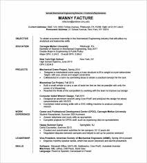 Mechanical Engineer Resume Template For Fresher Pdf Download Min