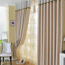Living Room Curtains Made of Poly and Fiber for Fancy Taste Buy