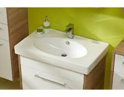 details zu pelipal lagos bad set waschtisch 80 cm keramikbecken eiche natur 2 teilig