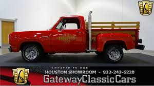 100 Little Red Express Truck For Sale 1978 Dodge LiL Gateway Classic Cars 823 Houston Showroom