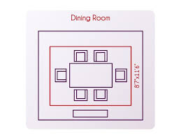 Size Of Rug For Dining Room Inspiring Good Pictures Excellent