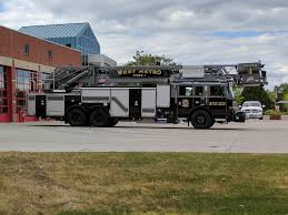 My Local Fire Department Has A Black And Grey Fire Engine - Album On ...