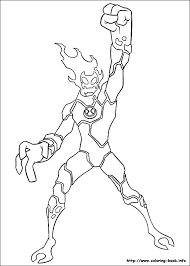 Ben 10 Ultimate Alien Coloring Pages 20