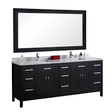 Design Element London 78 In. W X 22 In. D Vanity In Espresso With ... Design Element Milan 24 Bathroom Vanity Espresso Free Shipping 78 Ldon Double Sink White Dec088 36 Single Set In Galatian 88 With Porcelain Stanton 72 W Vessel Inch Drawers On The Open Bottom Dec074sw Citrus 48inch Solid Wood W X 22 D 61 Gray Marble Hudson 34 H
