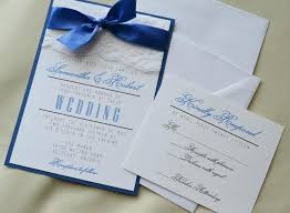 Good Wedding Invitations In Royal Blue Or Best Of Set