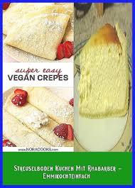 streuselboden kuchen mit rhabarber emmikochteinfach easy