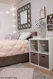 deko ideen schlafzimmer bettwäsche pastellfarben beige braun