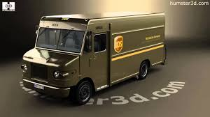 International 1552SC P70 UPS Truck 2015 3D Model By Humster3D.com ...