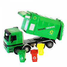 100 Toy Trash Truck Ihambing Ang Pinakabagong Eenten Garbage S With Cans