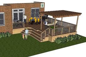 Images Deck Plans by Pergola Diy Deck Plans