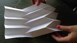 How To Make Paper Art The Reverse Folded Paper
