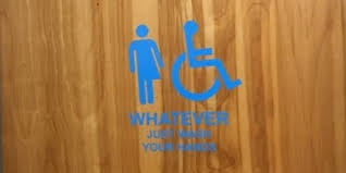 Gender Inclusive Bathroom Sign by Canadian Features Awesome Signs On Its Gender Neutral