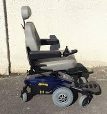 Jazzy Power Chairs Used by Used Pride Jazzy Select 6 Power Wheelchair