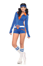 Retro New York Knicks Logo Romper Adult Costume