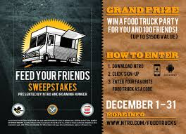 Feed Your Friends Giveaway | Roaming Hunger Build Your Tundra Sweepstakes Julies Freebies Stabil 360 Custom Car Winner Presentation Cool Jasons Story The Of Knapheides Winatruck Win That Ford Mustang Sweeptsakes Mungenast St Louis Honda Enter The Camp Ridgeline Bangshiftcom Classic Liquidators Upgrade Brakes On A 1971 C10 Chevy Pickup Truck Cabelas Announces More Winners Fifty Years Trucks Horsepower Pitvsind Youtube Monster Trucks Merchandise Nra Blog Truck Raffle Receives Prize