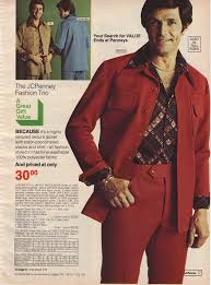 Seventies 70s Mens Fashion See More Polyester Leisure Suits From The JC Penney Catalog 1970s