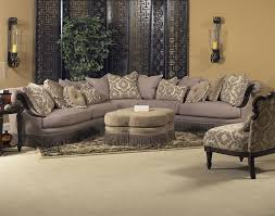 Broyhill Laramie Microfiber Sofa In Distressed Brown by Classic Wellingsley Sectional By Fairmont Designs Available At
