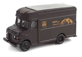 100 Ups Truck Toy Package Delivery UPSZ W UPS Bow Tie Shield Logo Walthers