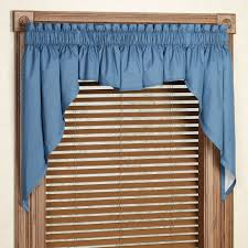 Tiffany Blue And Brown Bathroom Accessories by Carol Window Valance Set Or Insert Valance