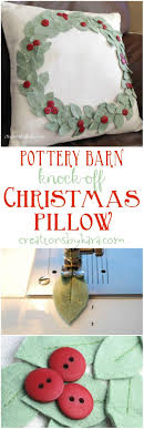 Pottery Barn Knock-off Christmas Pillow 200 Best Pottery Barn Designs Images On Pinterest Bathroom Ideas Painted Pumpkin Pillow Inspired Basketweave Cushion Cover Au Tips Ideas Catstudio Pillows Target Brings Coastal Chic To South Beach Are Those Amy Spencer Interiors Printed And Patterned Silver Taupe Performance Tweed Really Like The Look Place Mats Style For Less The Knockoff Pillow Seasonal Pillows A Fraction Of Price From Thrifty Decor Chick