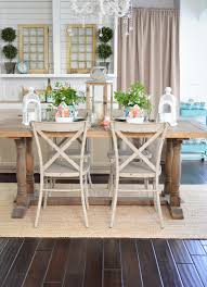 Dining Room Table Decorating Ideas by Cottage Farmhouse Table Decorating Ideas Fox Hollow Cottage