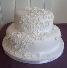 Daisy Wedding Cake Lytham St Annes Lancs