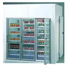 chambre froide prix chambres froides avec portes en verre 2 72 x 1 52 x 2 52 m hauteur
