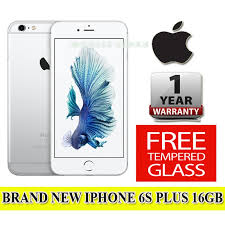 New  Apple iPhone 6S Plus 16GB Brand New Unlocked Mobile Phone Boxed and Sealed with 1 Year