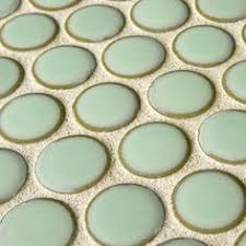 Trikeenan Basics Tile In Outer Galaxy by Bedford Concept 13 3x3 Hex In Melon Seafoam And Tranquility