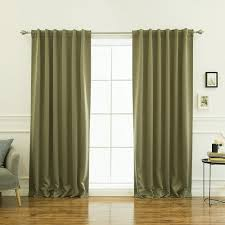 100 Modern Chic Living Room Sage Olive Green Curtains Minimalist Style