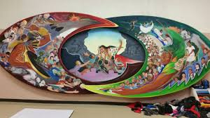 Denver International Airport Murals Pictures by Parents Voice Concerns Over Pueblo Elementary Mural Koaa
