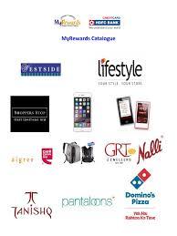 Hdfc Bill Deskcom by Download Hdfc Credit Card Rewards Catalogue Rev 27th Mar12