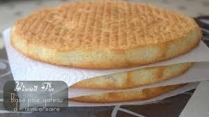 amour de cuisine biscuit fin pour gateau d anniversaire recette par amour de cuisine