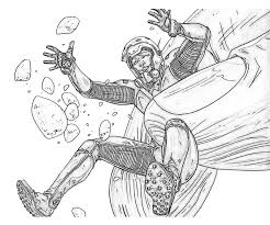 Coloring Page Ant Man Superheroes 18