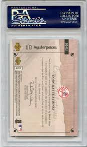 The Upper Deck Company Llc Linkedin by Lot Detail 2007 Upper Deck Masterpieces Stroke Of Genius Sg Dj